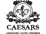 Caesars Armours Guns Swords